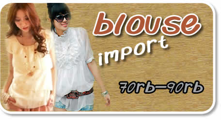 Dropship Blouse Import